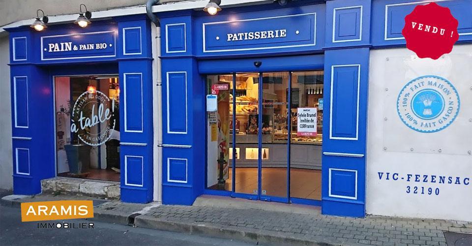 Vendu ! Boulangerie Pâtisserie 32