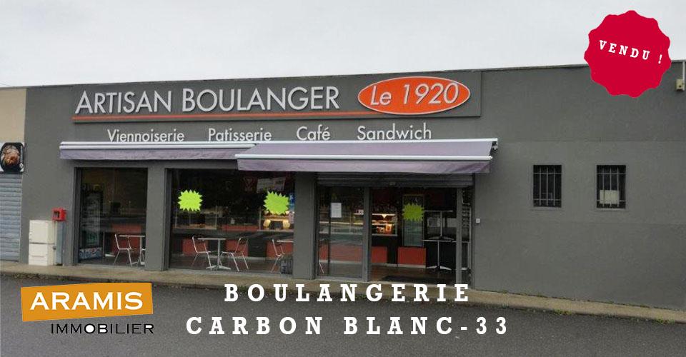 Vendu ! Boulangerie Bordeaux 33