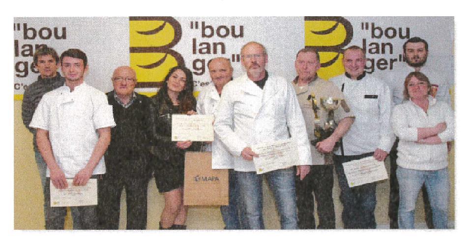 Le trophée de la meilleure baguette du Béarn et du Pays Basque