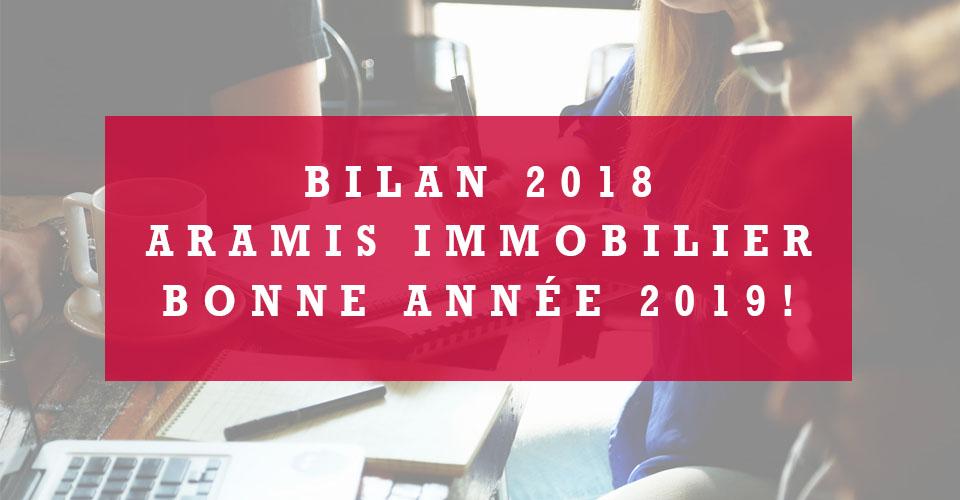 Bilan 2018 pour Aramis Immobilier
