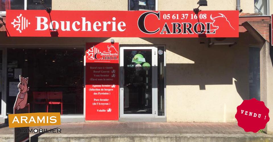 Vendu ! Boucherie à Castelginest (31)