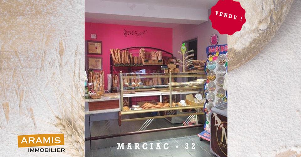 Vendu ! Boulangerie 32