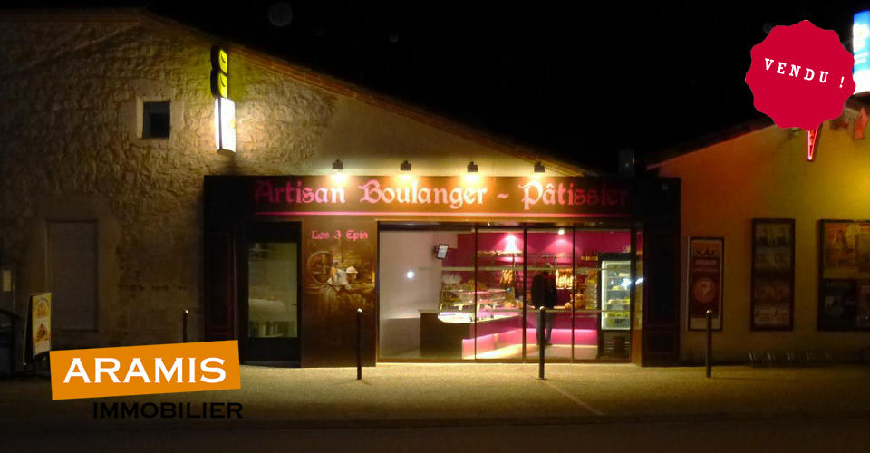 Vendu ! Boulangerie Pâtisserie Gers 32