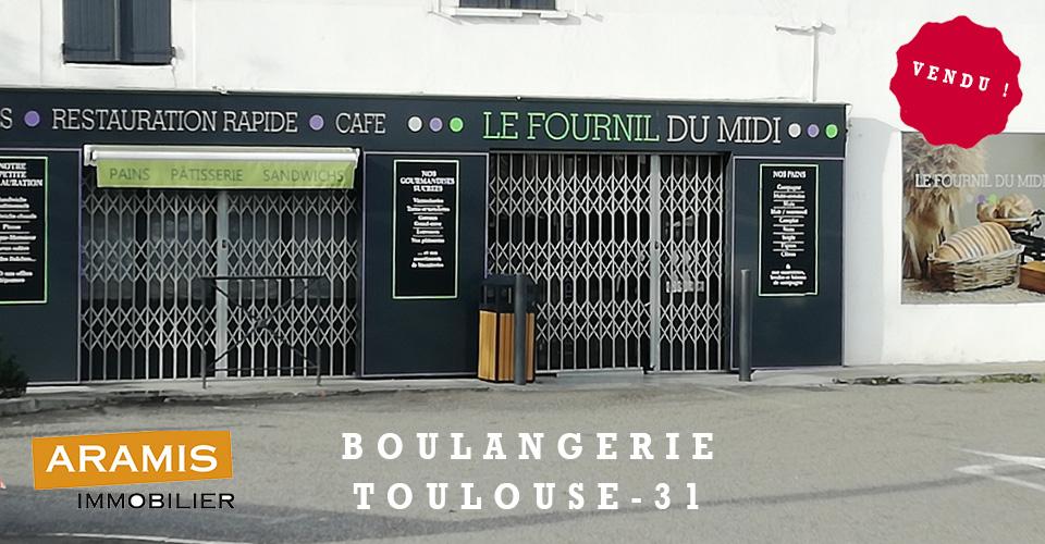 Vendu ! Boulangerie Toulouse 31