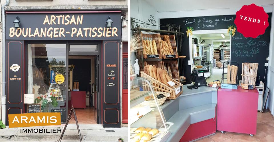 Vendu ! Boulangerie L'Isle Jourdain 32