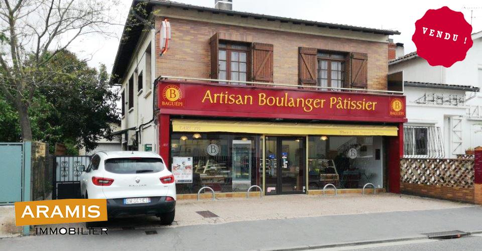 Vendu ! Boulangerie Toulouse (31)