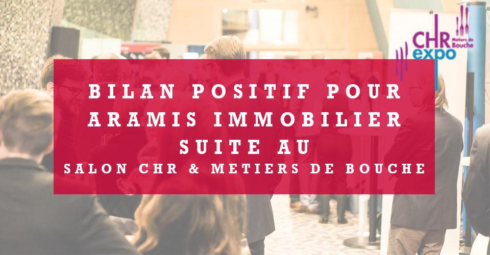 Un bilan positif pour Aramis immobilier au CHR&Expo
