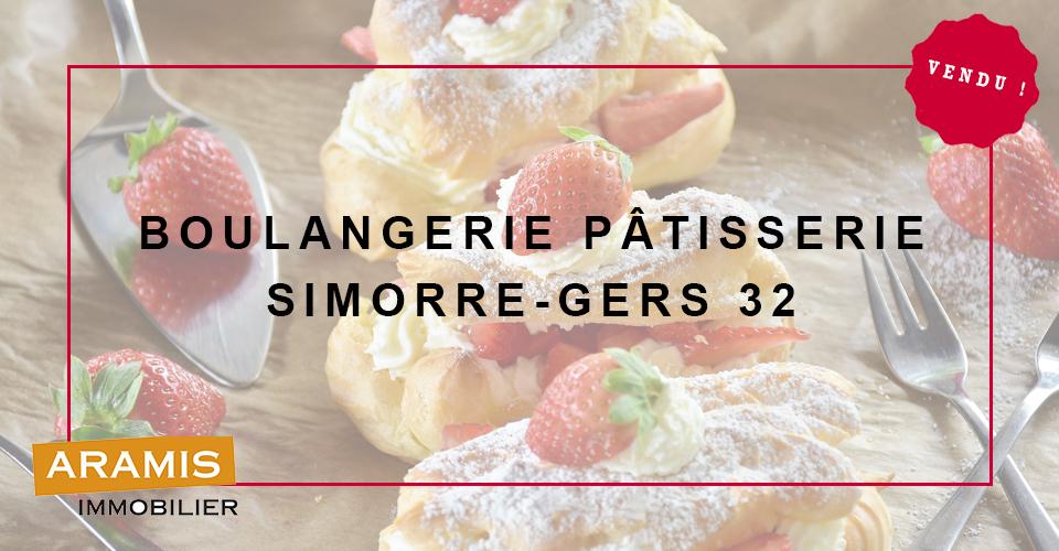 Vendu ! Boulangerie Gers Simorre 32