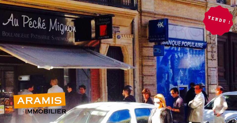 Vendu ! Une boulangerie au coeur des Carmes à Toulouse (31)