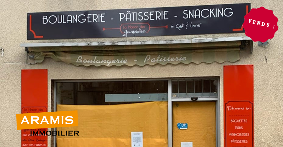 Vendu ! Une boulangerie-patisserie à Castelnau d'Auzan (32)